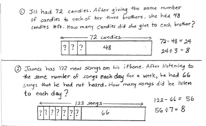Looking for structure in word problems the math spot part whole structure ccuart Choice Image